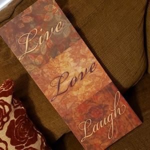 Live, Love, Laugh Wall Hanging